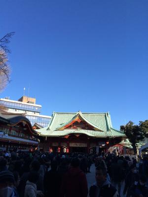 神田明神 初詣2015