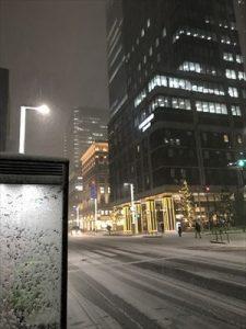 雪の中央通り20180122